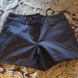Ann Taylor blue jeans shorts